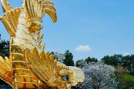 Golden Shachihoko of Nagoya Castle