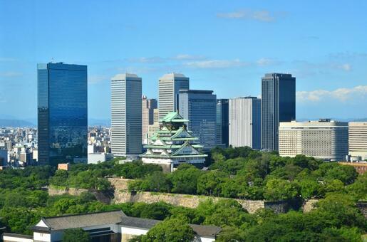 Osaka Castle and OBP 2