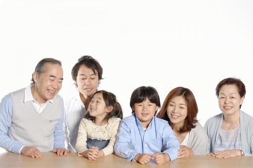 Three Generation Family 21