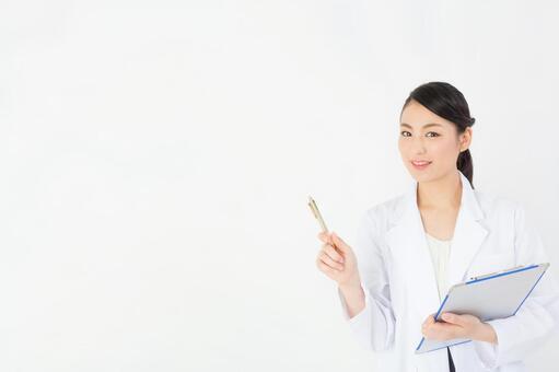 Beautiful women doctor
