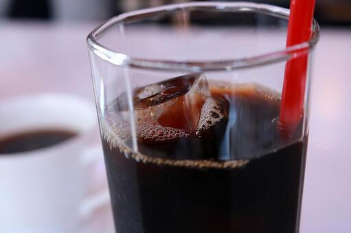 Ice coffee up