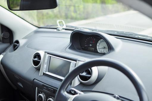 2000s domestic compact car interior