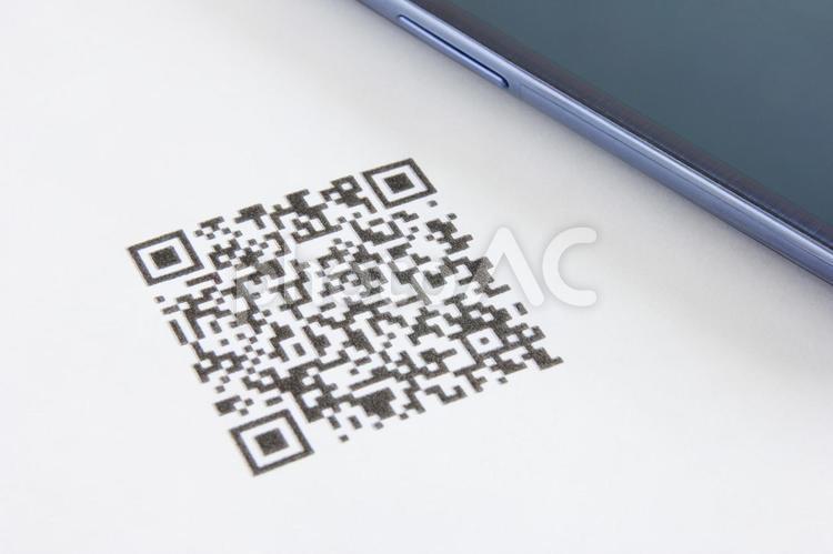 QRコードの写真