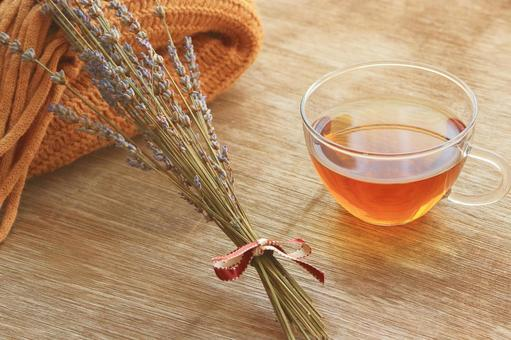 Hot herb tea