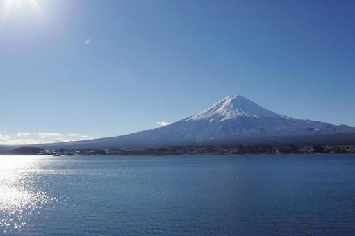 Mount Fuji and Lake 2