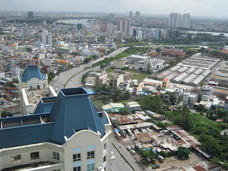 Vietnam Ho Chi Minh New Town vietnam ho chi minh