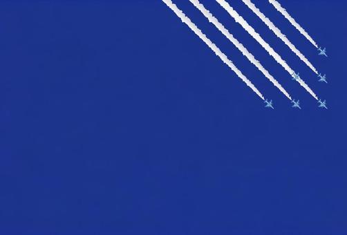 飛行機雲20(BI風/右/斜め)