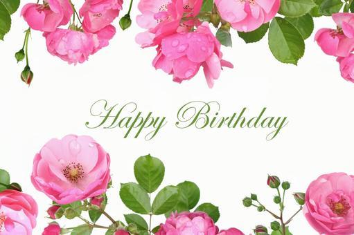 Roses' birthday card 7
