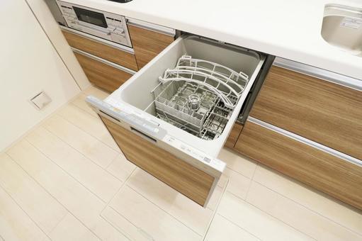 Kitchen dishwasher / dryer