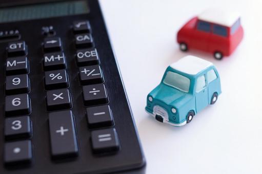 Calculator and car