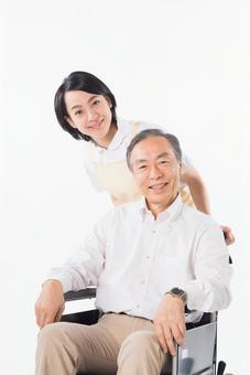Men and nurses on a wheelchair 15