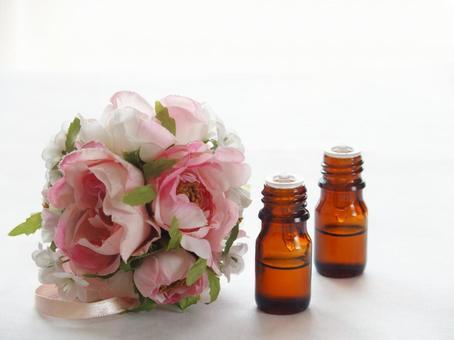 Aromatic oil rose