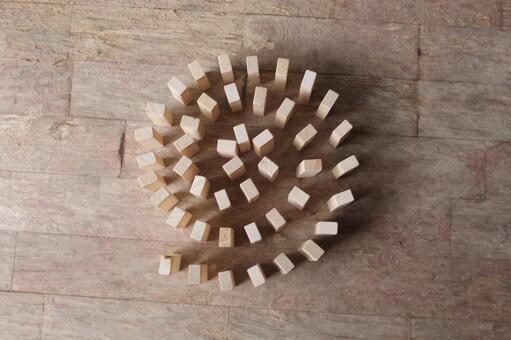 Spiral building blocks