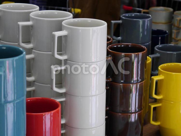 陶器まつりの風景の写真