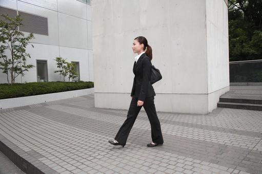 Walking business woman 6