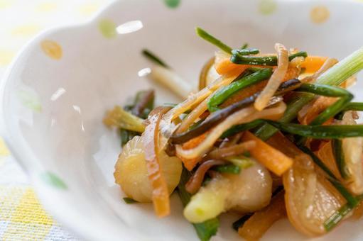 野菜中的小吃高貴
