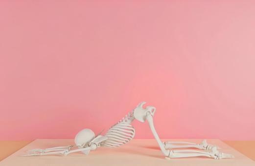 Skeleton G who decides yoga pose