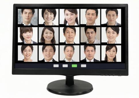 Online meeting _psd_ telework