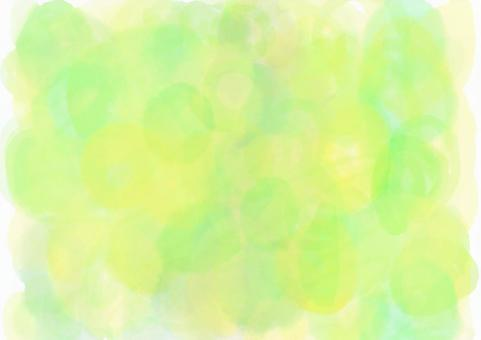 Fresh green abstract image | Early summer watercolor background co