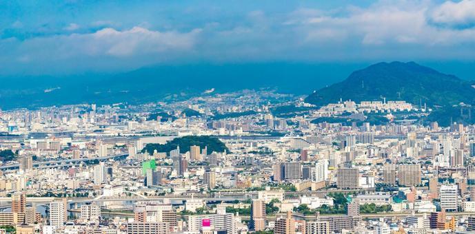 Hiroshima city scenery