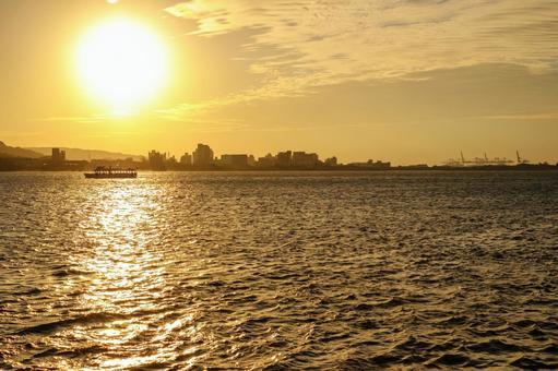 대만 여행으로 방문한 민물 황혼