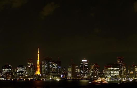 Night view of Tokyo 1