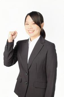 Female in suit shape 4