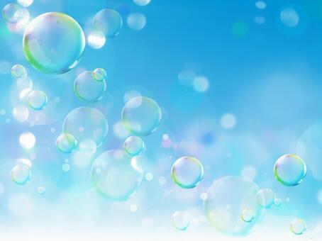 Soap bubble image background