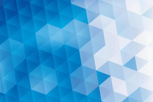 Blue hexagon abstract background texture material