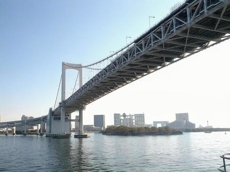 Rainbow Bridge and Odaiba