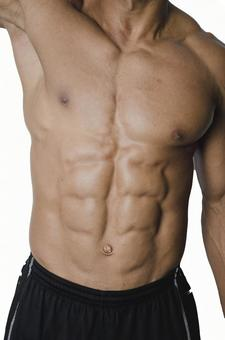 Athlete's abdominal muscle 6