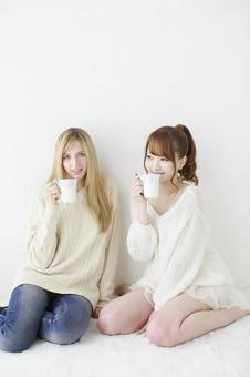 Female friend Foreigner and Japanese 19