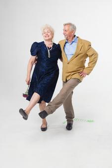 Party foreign senior couple 41