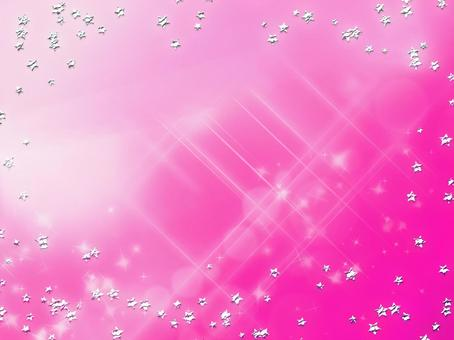 Background material · Design · Silver Star, Pink