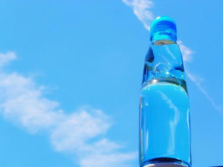 Blue Sky and Ramune