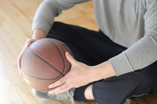 Male with basketball 1