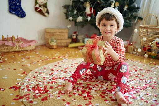 Christmas gifts and children