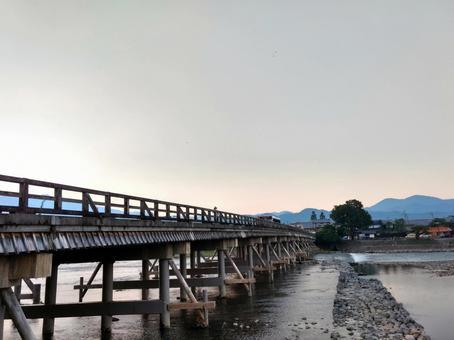 Togetsu-bashi at Arashiyama in Kyoto