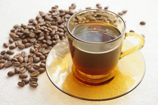咖啡和咖啡豆