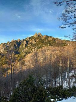 노을 루이 牆山 겨울