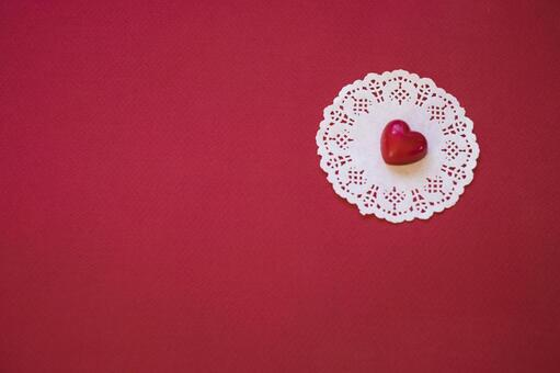 Chocolate heart_Valentine material