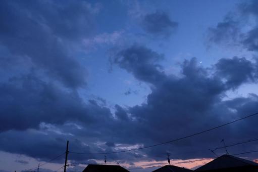 밤이되면 하늘