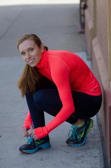 Caucasian female fitness model 109