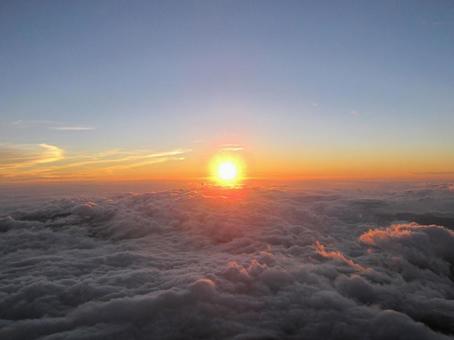 Fuji from Mt. Fuji