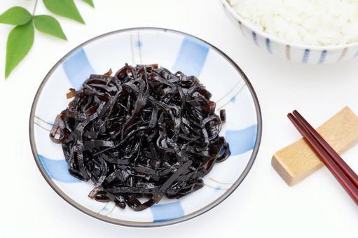 佃 boiled kelp