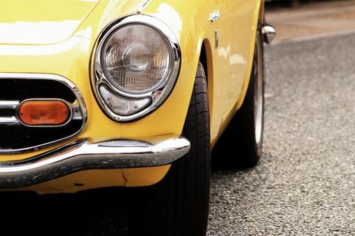 黄色经典车