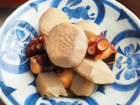 煨芋頭和章魚