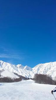 Northern Alps (ski resort) in winter 0225
