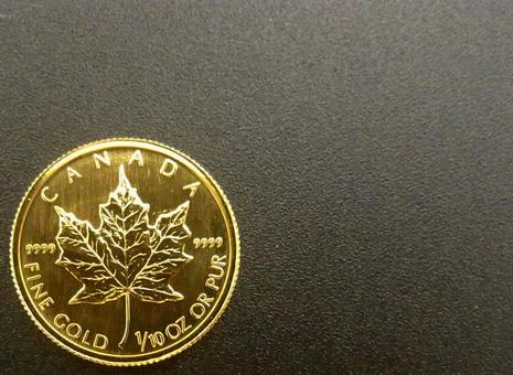 [Gold coin] Canada maple leaf coin 4