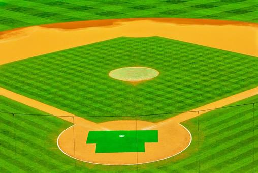 Baseball field field image